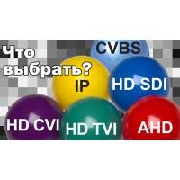 AHD или IP видеонаблюдение – что лучше