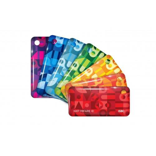 Чип-брелок ISBC (стандарт 7 цветов без логотипа)