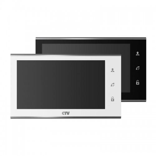 Видеодомофон CTV-M4705AHD с сенсорным управлением, функцией видеопамяти, фоторамки и часов ,автоответчик