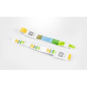 Текстильный браслет c RFID-меткой и одноразовым замком 13,56 MHz, ISO 14443 A/B