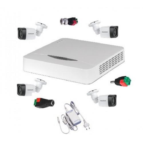 Готовый комплект видеонаблюдения на восемь камер 4в1 (AHD/TVI/CVI/Аналог) (уличн.)